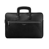 Aspinal Of London Men's Connaught Document Case Black