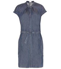 Closed Chambray Dress Blue