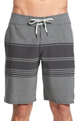 Men's Volcom 'Static Stripe' Board Shorts Silver Birch