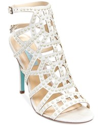 Betsey Johnson Corey Cage Evening Sandals Women's Shoes