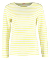 Armor Lux Heritage Long Sleeved Top Offwhite Solaire Yellow