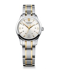 Victorinox Ladies Alliance Two Tone Stainless Steel Bracelet Watch Silver