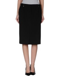 Diana Gallesi Knee Length Skirts Black