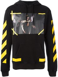 Off White '7 Opere' Hoodie Black
