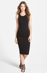 James Perse Women's Ruched Sleeveless Dress