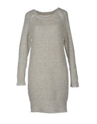 Virginie Castaway Short Dresses Light Grey