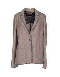 Caractere Suits And Jackets Blazers Women Khaki