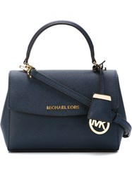 Michael Michael Kors Extra Small 'Ava' Tote Blue