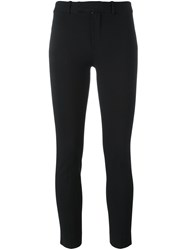 Polo Ralph Lauren Cropped Trousers Black