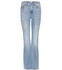Acne Studios Lita Flared Jeans Blue