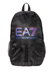Emporio Armani Logo Printed Nylon Backpack