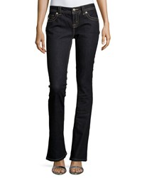 Miss Me Mid Rise Boot Cut Jeans Dark Rinse