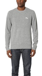 Obey Camden Sweater Heather Grey