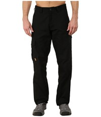 Fjall Raven Ovik Trousers Black Men's Casual Pants