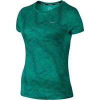 Nike Dry Miler Running Top Rio Teal