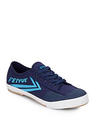 Feiyue Fe Lo Classic Canvas Sneakers Navy