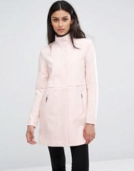 Only Lightweight Jacket With High Neck Peach Whip Pink