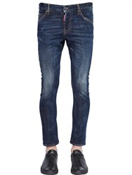 Dsquared2 16Cm Sexy Twist Stretch Denim Jeans