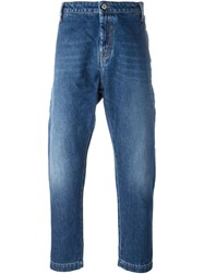 Ports 1961 Cropped Jeans Blue