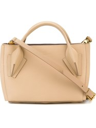 Desa 1972 Small Tote Bag Nude And Neutrals
