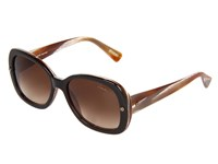 Lanvin Sln500 Brown Marble Brown Gradient Fashion Sunglasses