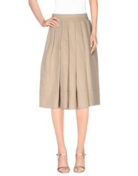Pauw Skirts Knee Length Skirts Women Beige