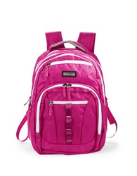 Kenneth Cole Reaction Deluxe Expandable Backpack Pink
