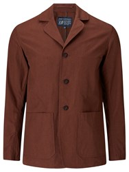 John Lewis And Co. Made In Manchester Workwear Jacket Rust
