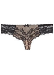 Myla Nicole Black Lace Thong