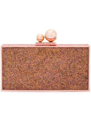 Sophia Webster Embellished Clutch Metallic