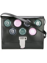 Opening Ceremony 'Coins' Crossbody Bag Black