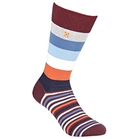 Barbour Heywood Stripe Socks One Size