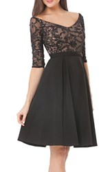 Js Collections Women's Embellished Fit And Flare Dress