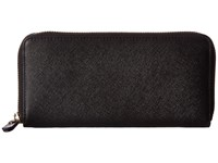Ecco Iola Large Zip Wallet Black Wallet Handbags