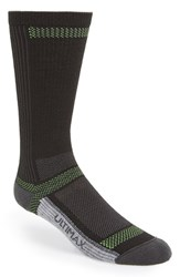 Men's Wigwam 'Ultra Cool Lite' Crew Socks Black