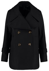 Filippa K Leo Short Coat Blue Black Dark Blue