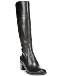 Naturalizer Harbor Tall Wide Calf Boots Women's Shoes Black