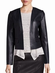 Bcbgmaxazria Faux Leather Jacket Black