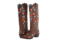 Stetson Flora Burnished Brown Floral Women's Boots