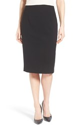 Petite Women's Ellen Tracy High Waist Pencil Skirt