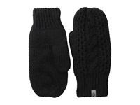 The North Face Cable Knit Mitt Tnf Black Extreme Cold Weather Gloves