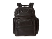 Alpha 2 Tumi T Pass Business Class Leather Brief Pack Black Briefcase Bags