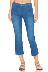 Sanctuary Marianne Frayed Crop Pant Olympus Wash