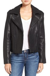Joe's Jeans Women's 'Rene' Leather Moto Jacket