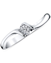 Sirena Diamond Ring 1 10 Ct. T.W. In 14K White Gold