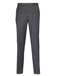Paul Costelloe Check Classic Fit Suit Trousers Grey
