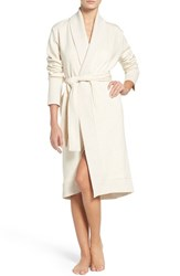 Uggr Women's Ugg 'Karoline' Fleece Robe Cream Heather