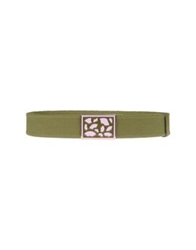 Red Valentino Redvalentino Belts Military Green