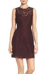 Bb Dakota Women's 'Bobby' Lace Fit And Flare Dress