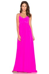 Amanda Uprichard Kingston Gown Pink
